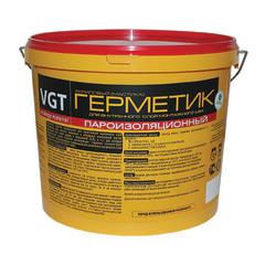 Герметик акриловый VGT пароизоляционный для внутренних работ однокомпонентный белый 7 кг