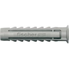 Дюбель распорный Fischer 6x50 мм нейлоновый, 100 шт.