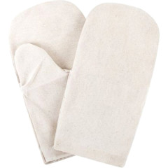 Перчатки хлопковые Archimedes белые