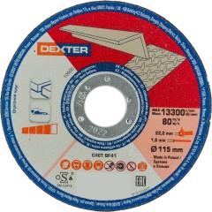Диск отрезной Dexter по алюминию 115x1.6x22 мм