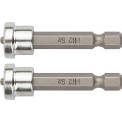 Насадки для завинчивания саморезов Fit Профи PH2x50 мм, 2 шт.