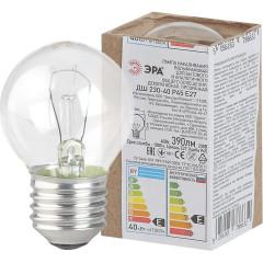 Лампа накаливания Эра ДШ 40-230-Е27 гофра