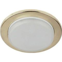 Точечный светильник Эра KL70 GD под лампу GX53 13 Вт золото