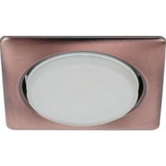 Точечный светильник Эра KL71 SС под лампу GX53 13 Вт медь