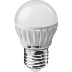Лампа светодиодная Онлайт OLL-G45-6-230-6.5K-E27