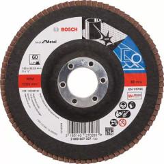 Круг угловой лепестковый Bosch Best for Metal 22.23 мм K60