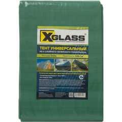 Тент универсальный с люверсами X-Glass 120 г/м2 2x3м