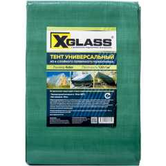 Тент универсальный с люверсами X-Glass 120 г/м2 4x6м