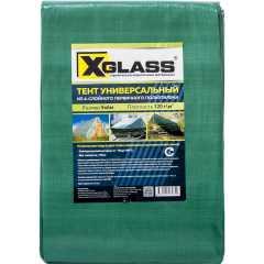 Тент универсальный с люверсами X-Glass 120 г/м2 5x6м