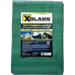 Тент универсальный с люверсами X-Glass 120 г/м2 6x8м