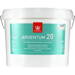 Краска Tikkurila Argentum 20 A антимикробная белая 9 л