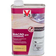 Масло для столешниц V33 матовый бесцветный 0.5 л