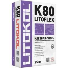 Клей для укладки плитки Litokol LITOFLEX K80 25 кг