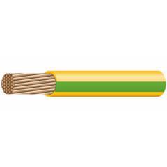 Провод установочный Prysmian ПуГВ 1x1.5 ГОСТ зелено-желтый, 1 шт = 1 м