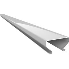 Раскладка для реечного потолка Cesal S-25 Profi 3306 белый матовый 4 м, 60 шт.