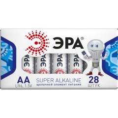 Батарейка Эра АА упаковка, 28 шт.