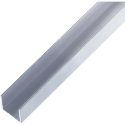 Швеллер алюминиевый 20х20х20х1.5х2000 мм
