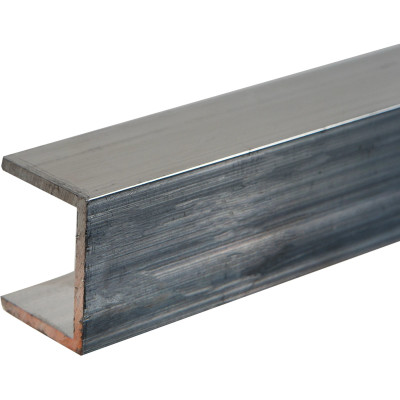 Швеллер алюминиевый 20х25х20х2х2000 мм