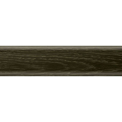 Плинтус ПВХ Salag NGF56 2500x56 мм дуб паленый