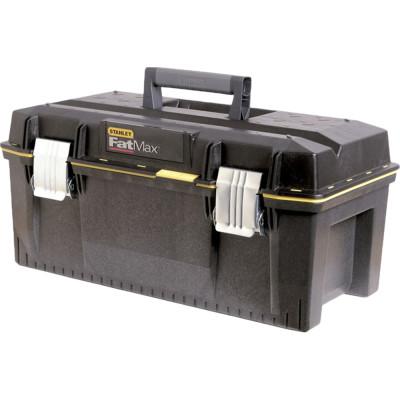 Ящик для инструмента Stanley FatMax черный металлопластмассовый 71х28.5х30.8 см ящик для инструмента stanley fatmax promobile job chest черно желтый металлопластмассовый 91х51 6х 43 1 см