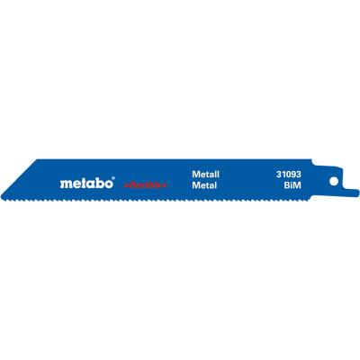 Полотна Metabo S922BF BiM для сабельной пилы по металлу 150х1.8-2.6 мм, 2 шт. 631093000