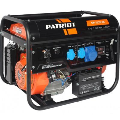 Генератор бензиновый PATRIOT GP 7210AE 6500 Вт 474101590