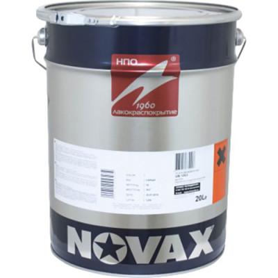 Фото - Грунт-эмаль 3 в 1 антикоррозионная Novax RAL 9005 матовая черная 18 кг грунт эмаль 3 в 1 антикоррозионная novax ral 7042 глянцевая серая 0 8 кг