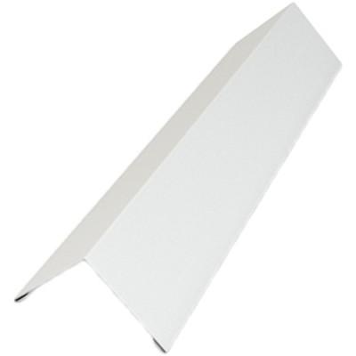 Наружный угловой L-профиль Cesal 50х50х3000мм оцинкованный белый 903 3 м