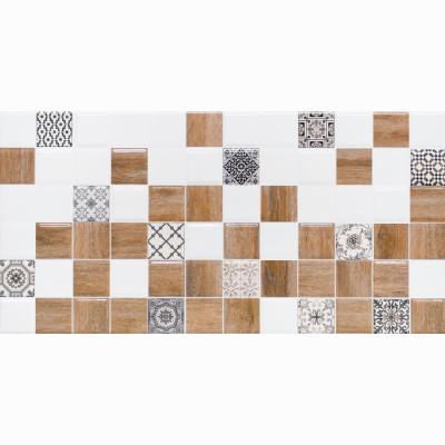 Настенная плитка ДЕКОР2 LB Ceramics АСТРИД белая 200х400х8 мм 1.5 м2