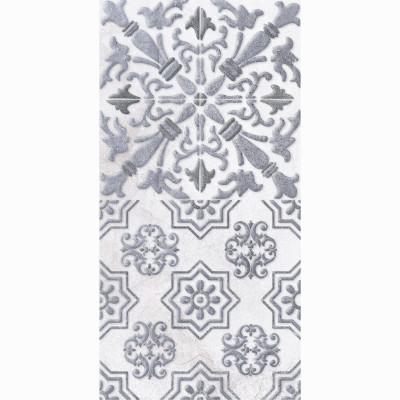 Настенная плитка ДЕКОР1 LB Ceramics КАМПАНИЛЬЯ серый 200х400х7 мм
