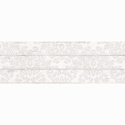 Плитка настенная ДЕКОР LB Ceramics ШЕББИ ШИК белая 200х600х9 мм 0.84 м2