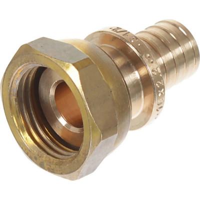Фото - Соединитель прямой Rehau Rautitan RX d 16 мм х 1/2 с накидной гайкой внутренняя резьба угол rehau rautitan mx d 16 мм х 1 2 внутренняя резьба