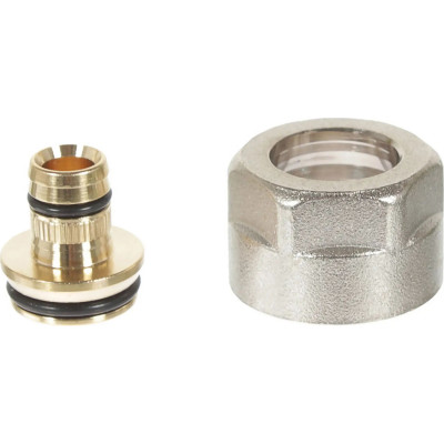 Фото - Евроконус для присоединения труб Rehau Stabil d 16 мм х 3/4 внутренняя резьба угол rehau rautitan mx d 16 мм х 1 2 внутренняя резьба