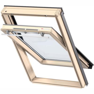 Мансардное окно Velux Premium Optima Стандарт GZR CR04 3050 55x98 см ручка сверху