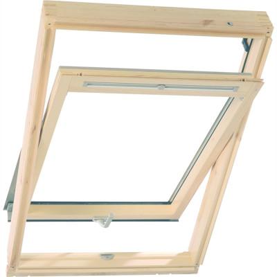 Мансардное окно Velux Premium Optima Стандарт GZR CR02 3050В 55x78 см ручка снизу