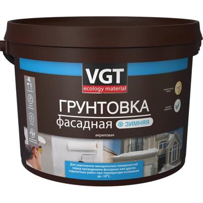 Грунтовка VGT ВД-АК-0301 фасадная зимняя до -10С 10 кг