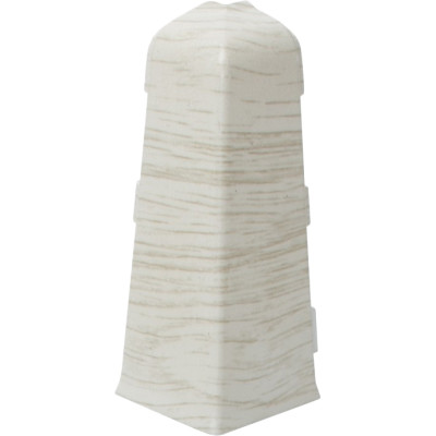 Угол внешний Salag 72 мм белый гумпи
