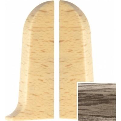 Фото - Заглушка левая и правая T-plast 58 мм королевский белый дуб 103, 2 шт. заглушка левая и правая t plast 58 мм дуб состаренный 128 2 шт
