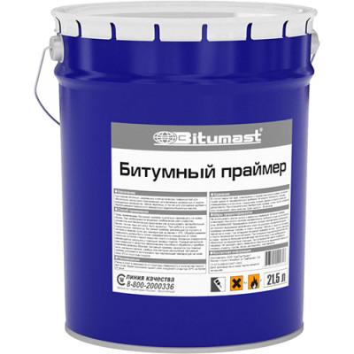 Фото - Праймер битумный Bitumast 21.5 л 1 6кг праймер битумный profimast 4 5кг 5л