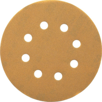 Шлифовальные круги Dewalt 8 отверстий 80G d 125 мм, 25 шт. DT3113-QZ