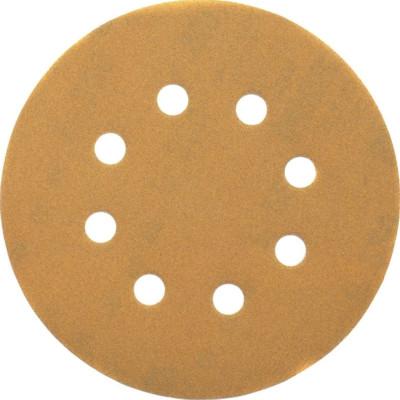 Шлифовальные круги Dewalt 8 отверстий 120G d 125 мм, 25 шт. DT3115-QZ
