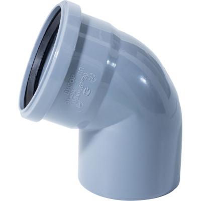 Отвод полипропиленовый Ростурпласт 110 мм 67 градусов отвод d 110 мм 15 градусов