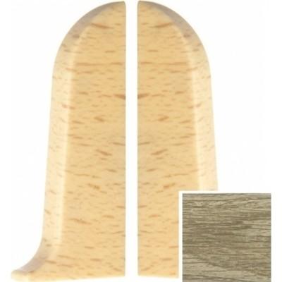 Фото - Заглушка левая и правая T-plast 58 мм дуб американский 131, 2 шт. заглушка левая и правая t plast 58 мм дуб состаренный 128 2 шт