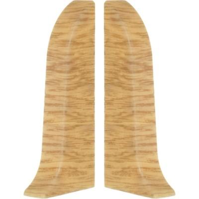 Фото - Заглушка левая и правая T-plast 58 мм дуб галлийский 136, 2 шт. заглушка левая и правая t plast 58 мм дуб состаренный 128 2 шт