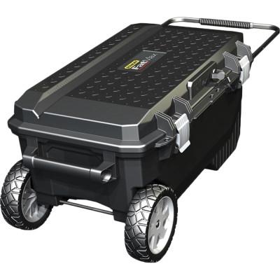 Ящик для инструмента Stanley FatMax Promobile Job Chest черно-желтый металлопластмассовый 91х51.6х 43.1 см ящик для инструмента stanley essential черно желтый металлопластмассовый 16 дюймов 40 6х20 5х19 5 см