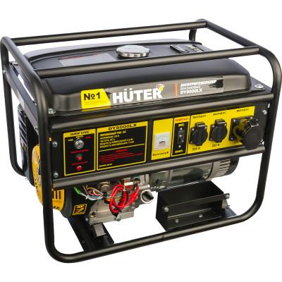 Бензиновый генератор Huter DY8000LX 64/1/19