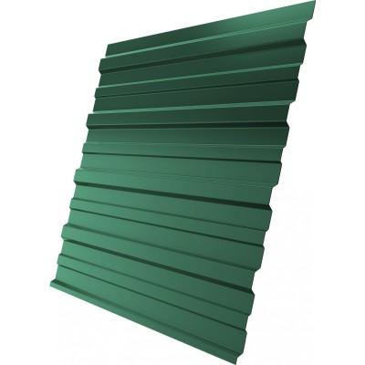 Профнастил Grand Line Optima С10В 0.4 PE RAL 6005 200x118x0.04 см полиэстер (PE) зеленый мох