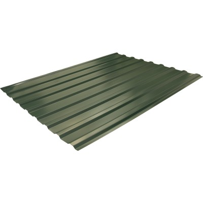 Профнастил Grand Line Optima С21R 0.4 PE RAL 6005 200x105.1x0.04 см полиэстер (PE) зеленый мох
