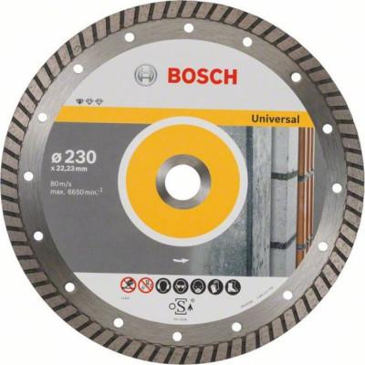 Фото - Диск отрезной Bosch Standard for Universal алмазный 230х22.23 мм 2608602397 диск алмазный отрезной bosch standard for universal turbo 2608602395 150 мм 1 шт
