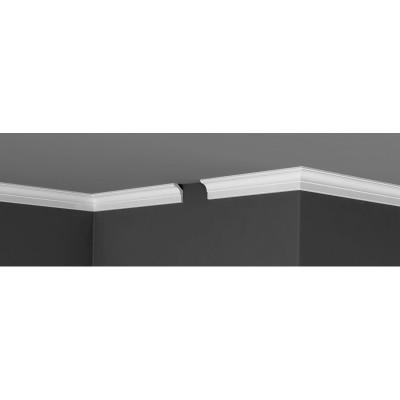 Плинтус Де-Багет потолочный гладкий П 18 35х25х2000 мм